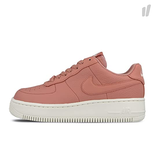 fd5922fc7 Nike Women's Air Force 1 Upstep Leather Lace Up Trainer Red Stardust-Red-7:  Amazon.co.uk: Shoes & Bags