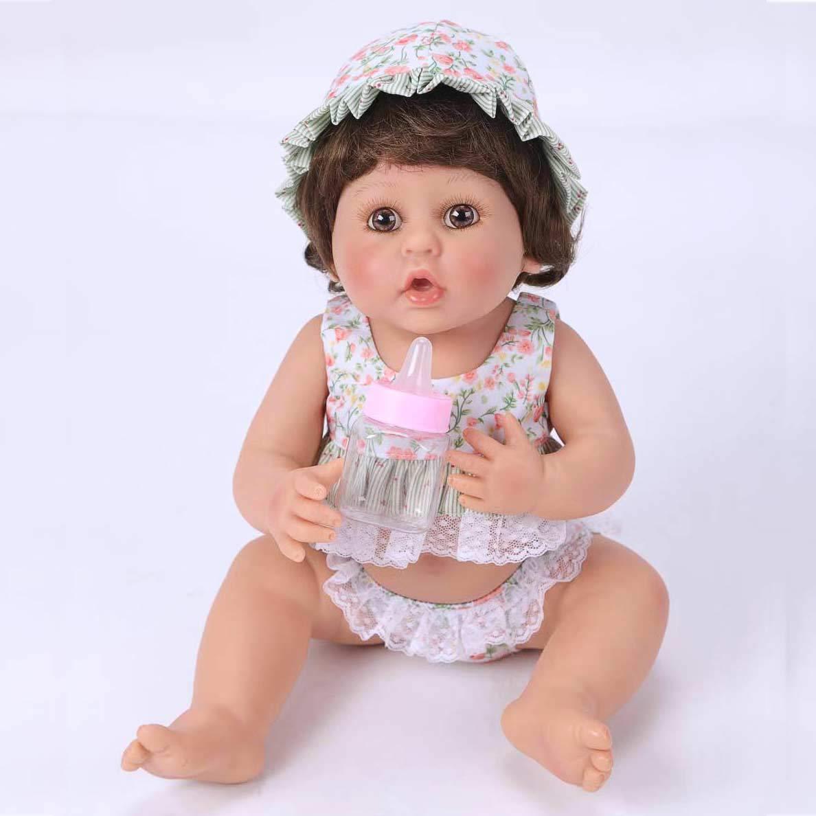 Amazon.es: Pursue Baby Adorable Reborn Baby Doll 16 Pulgadas 45 cm ...
