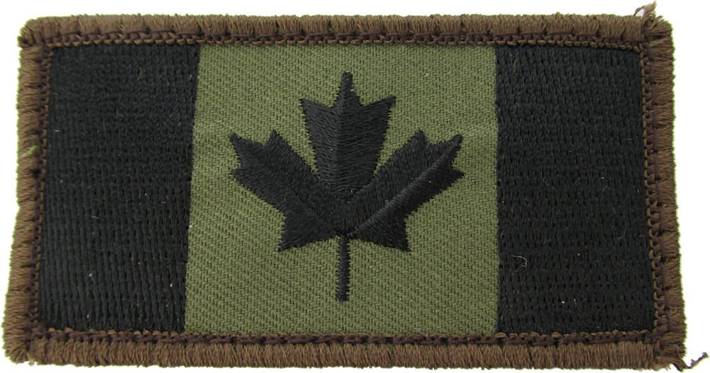 MIL-SPEC Canadian Flag Patch Forest Mil-Spec Monkey