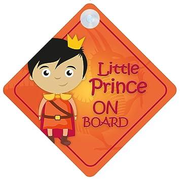 Amazon.com: blp006 Little Prince On Board coche Señal nuevo ...