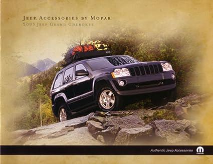 2005 Jeep Grand Cherokee Accessories Sales Brochure Literature Advertisement