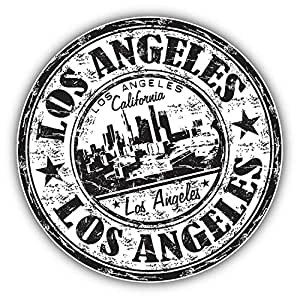 Amazon Com Kw Vinyl Los Angeles California Grunge Rubber