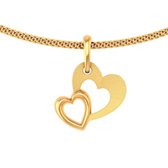 P.N.Gadgil Jewellers 22KT Yellow Gold Pendant for Women Pendants