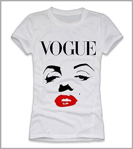 Roly Camiseta Mujer Marilyn Vogue, niña Mujer, Bianco, XXL