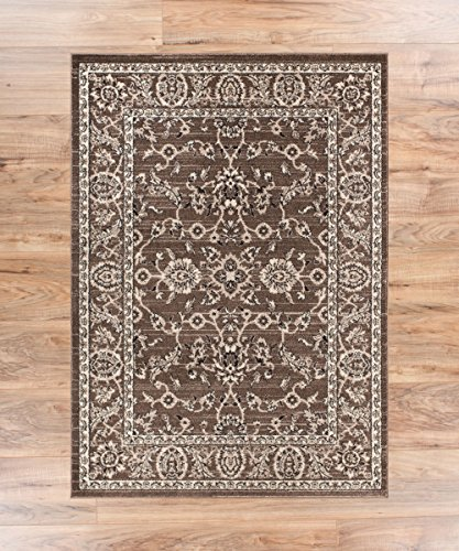 Barton Beige Sarouk Vintage Modern Casual Traditional 2x4 ( 2'3