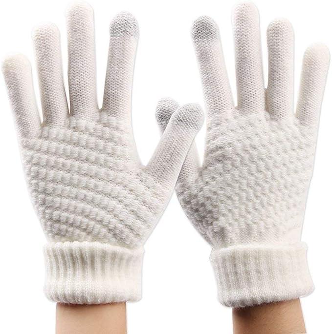 Rinalay Guantes Gloves Táctiles Mitones Guantes Táctil Calientes ...