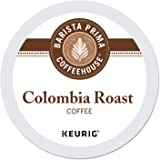 Barista Prima Coffeehouse Medium Dark Roast Extra Bold K-Cup for Keurig Brewers, Colombia Coffee 24 count (Pack of 4…