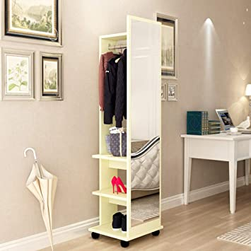 Amazon.com - Floor-Standing Fitting Mirror Modern Minimalist ...