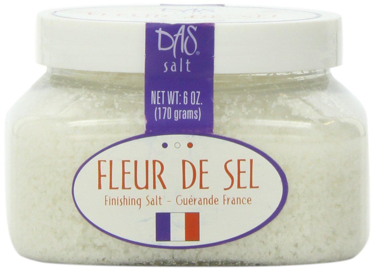Amazon Com Das Foods Fleur De Sel De Guerande French Sea Salt