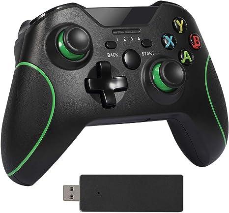Delymc Mando inalámbrico para Xbox One PS18 mando inalámbrico Gamepad Joystick para PC PS3 Android Smartphone: Amazon.es: Videojuegos