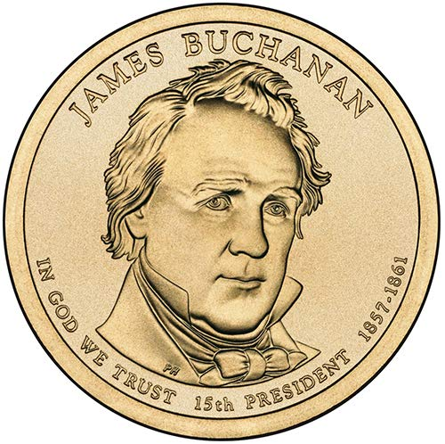 2010 S Proof James Buchanan Presidential Dollar Choice Uncirculated US Mint ()