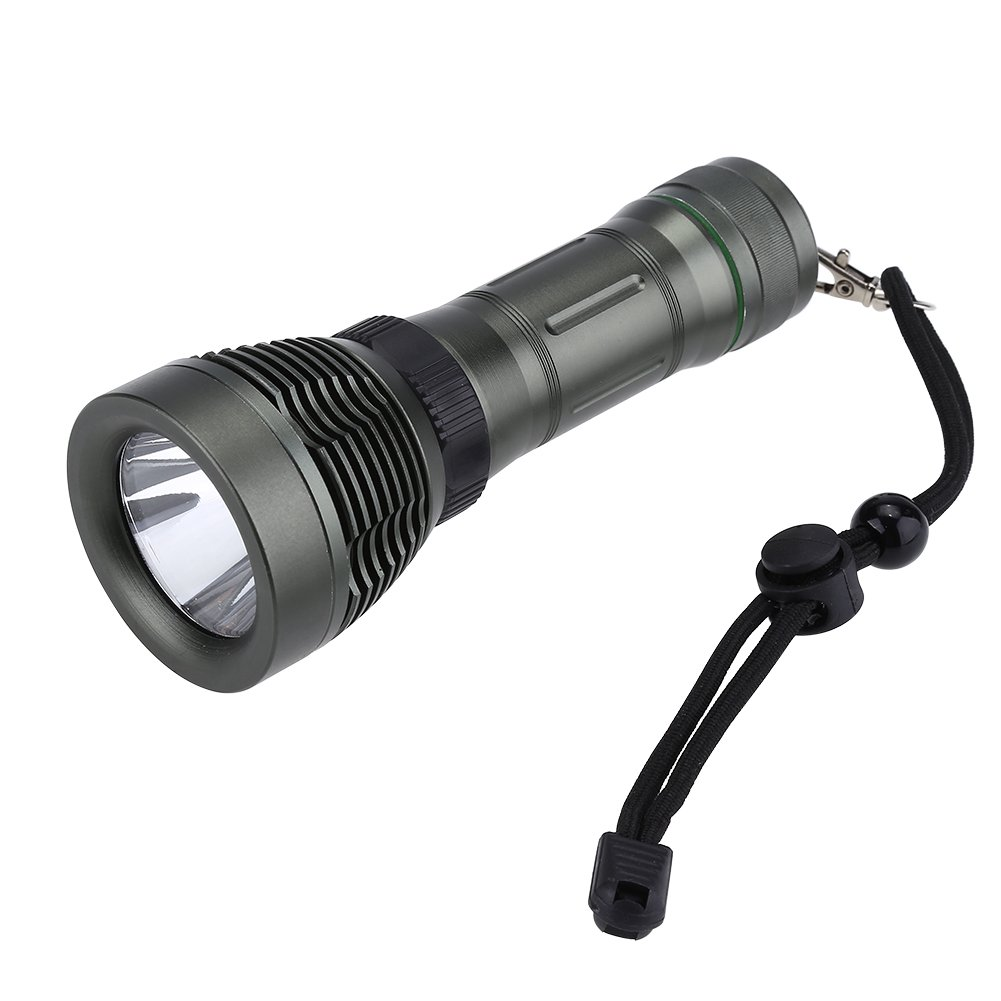 Fdit Impermeable Portátil XPE LED de Bolsillo Pequeña Linterna Proyector de Astillas para Buceo Socialme-EU