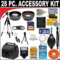 28 PC ULTIMATE SUPER SAVINGS DELUXE DB ROTH ACCESSORY KIT, INCLUDES FLASH, LENSES, FILTERS, ACCESSORIES AND MUCH MORE! For The Canon Digital EOS Rebel T3 Digital SLR Camera Which Has Any Of These (24-105mm, 24-70mm, 100-400mm, 70-200mm f/2.8L) Canon Lenses