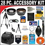 28 PC ULTIMATE SUPER SAVINGS DELUXE DB ROTH ACCESSORY KIT, INCLUDES FLASH, LENSES, FILTERS, ACCESSORIES AND MUCH MORE! For The Fujifilm FinePix H35 EXR(H35EXR), HS50 EXR (HS50EXR) Digital Camera