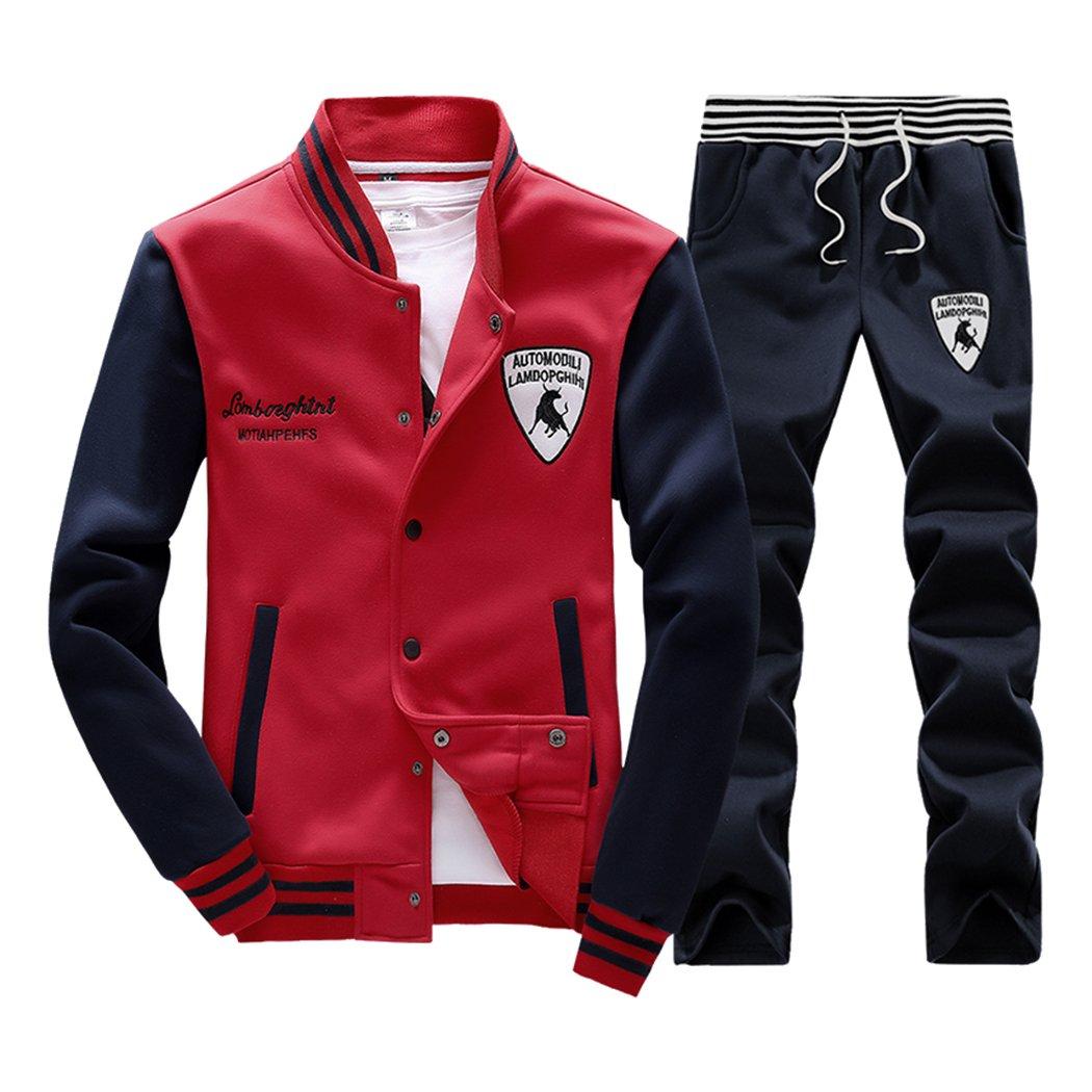 Rocky Sun Mens Slim Fit Jogging Sweat Suits Casual Tracksuits + Pants 6316065769917