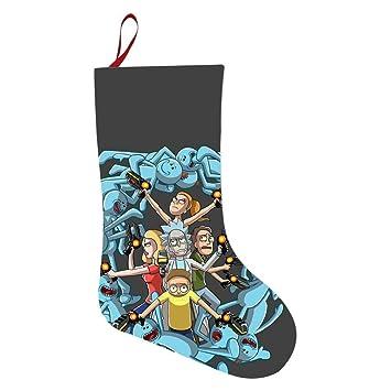 Rick And Morty Christmas Ornaments.Amazon Com Hiufh 3d Print Pickle Rick And Morty Christmas