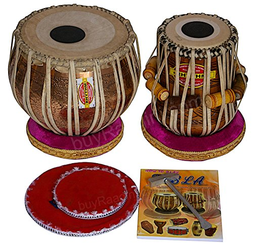 Used, Mukta Das Tabla Drums - Concert Quality, 3.5 Kg Chromed for sale  Delivered anywhere in USA