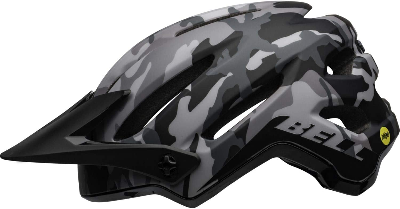 Casco da bicicletta MTB Unisex-Adulti opaco//nero lucido mimetico 58-62 cm L BELL 4Forty Mips