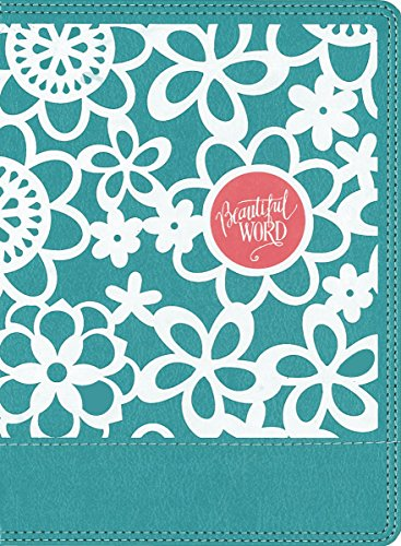 NIV Beautiful Word Coloring Bible for Girls, Hardcover, Teal: Hundreds of Verses to Color
