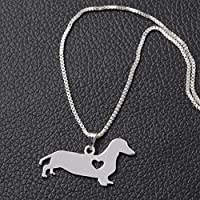 TenDollar In Accessories Shaped Popular Animal Cute Dachshund Necklace Puppy Pendant Dog By TenDollar