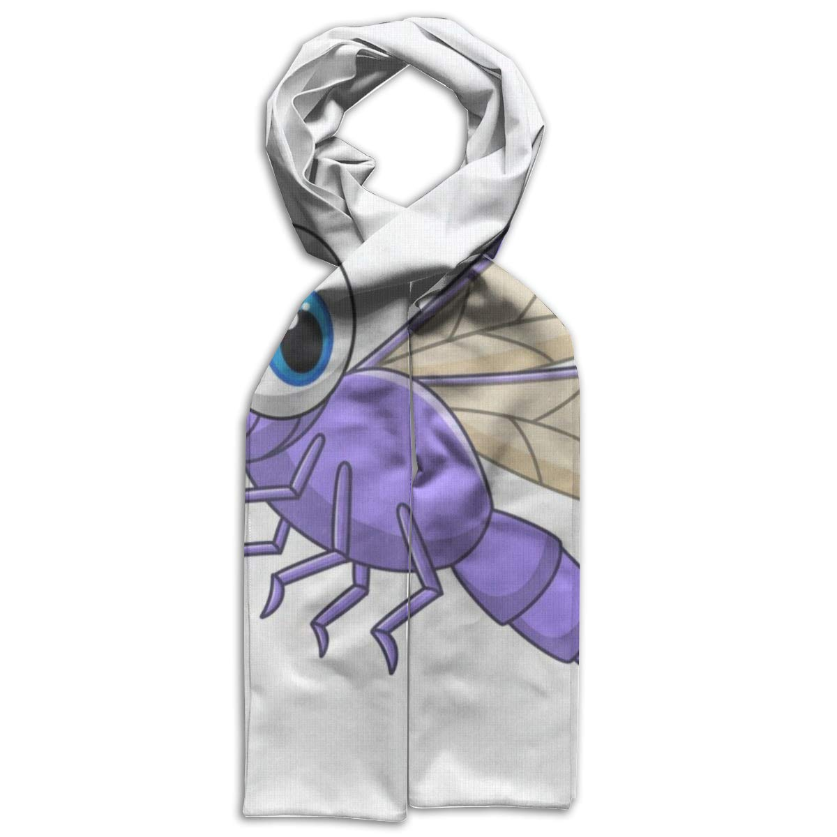 Kids Scarf Cute Sloth Hanging Upside Down On The Tree Scarves Winter Warm Bandelet For Girls