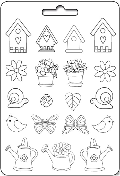 Large Sticko Alphabet Futura Bold Stickers White