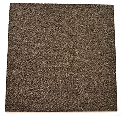 DIY Carpet Tile Squares - Brown Ripple