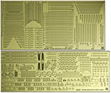 Hasegawa 1/350, Navy military aircraft Falcon Falcon detail up photo-etched parts Super plastic parts QG65