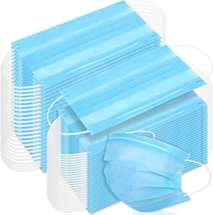 150 pcs disposable face mask