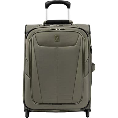 e399f99e9 Travelpro Luggage Maxlite 5 International Expandable Rollaboard Suitcase  Carry-On, Slate Green