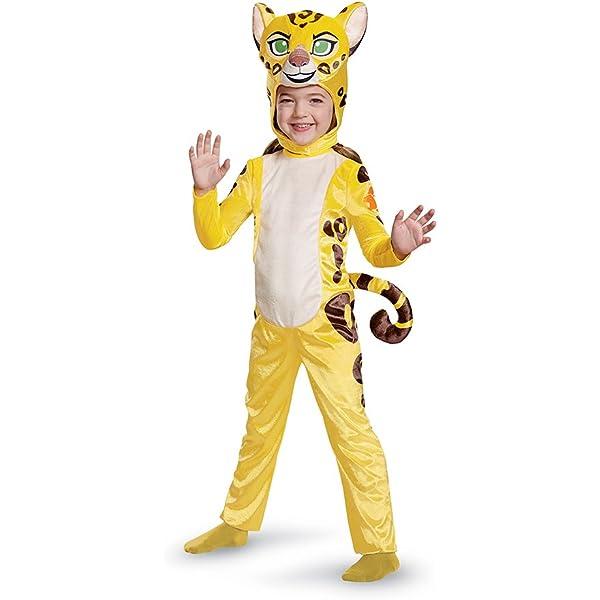 Kion Boys Fancy Dress Disney Lion Guard Animal Character Childrens Kids Costume