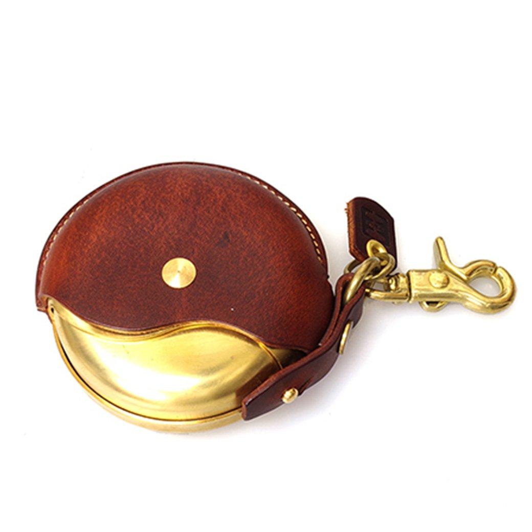 携帯灰皿 キーホルダー レザーマルチケース 携帯灰皿 Cramp ブラウン カラー B07DD4JL2Z ブラウン ブラウン
