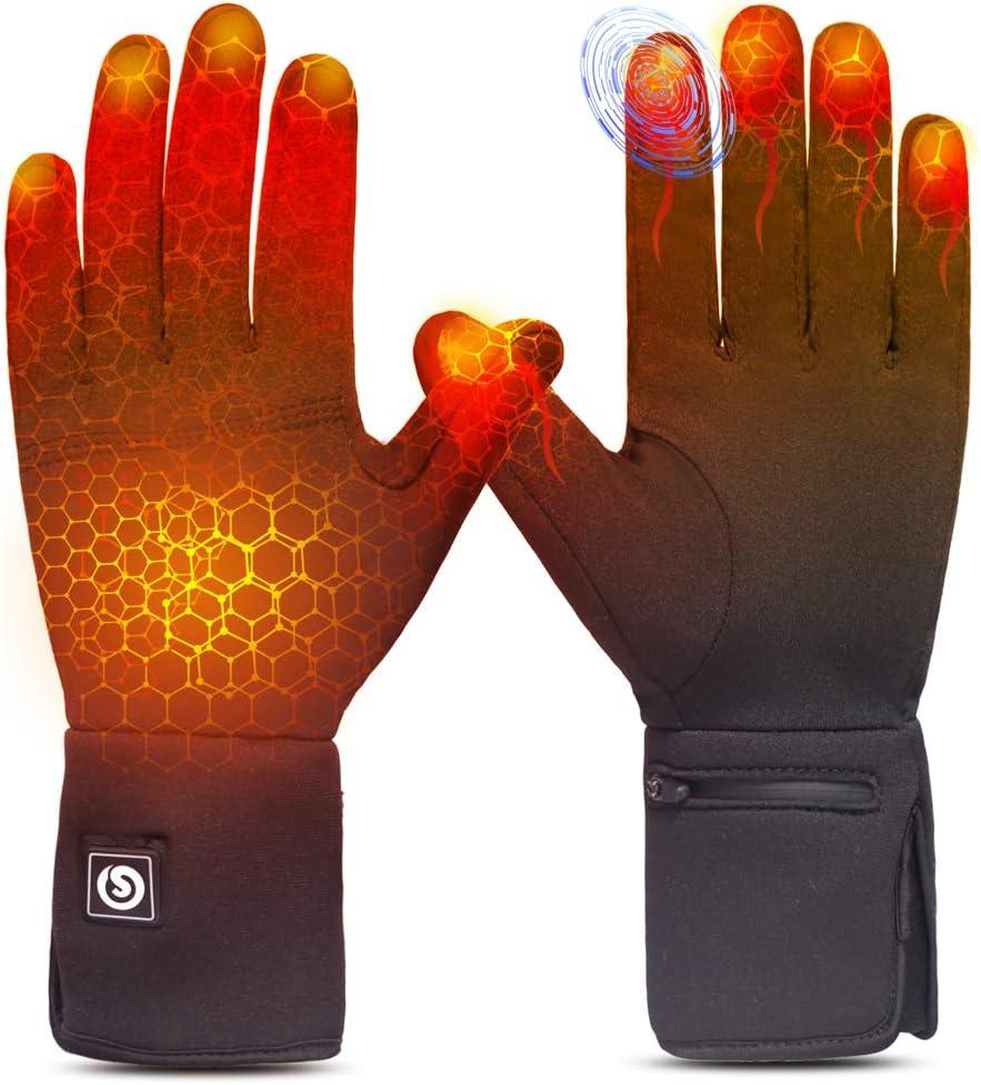 太阳会加热手套衬垫