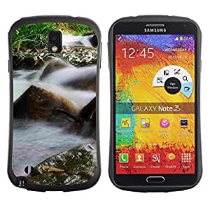 Fuerte Suave TPU GEL Caso Carcasa de Protección Funda para Samsung Note 3 N9000 N9002 N9005 / Business Style Plant Nature Forrest Flower 26