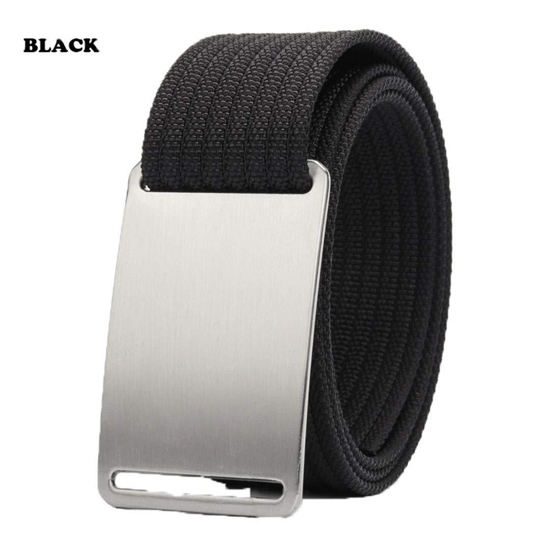 Men Canvas Military Tactical Belt For Adjustable Nylon Webbing Waist Belt
