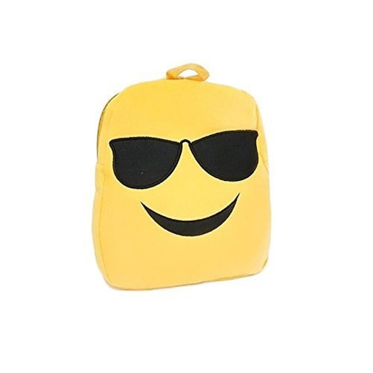 12.5'' Emoji Emoticon Backpack An Ultra-Cool Accessory for School, Travel, Camping, Sleepovers & Other Occasions (GLASSES)