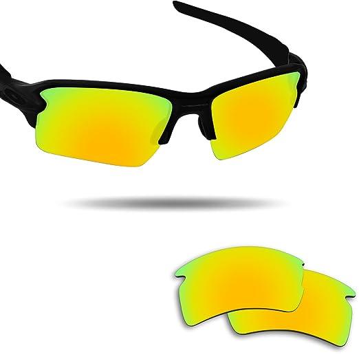 cb0b01e3d1 Image Unavailable. Image not available for. Color  Fiskr Anti-saltwater Replacement  Lenses for Oakley Flak 2.0 XL Sunglasses ...