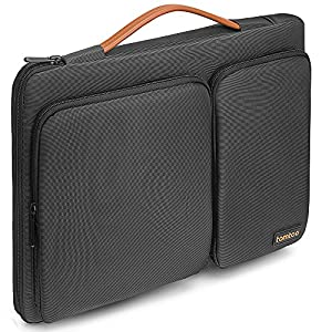"Tomtoc 360° Protective Laptop Sleeve for 13-13.3 Inch MacBook Air | MacBook Pro Retina 2012-2015 | 13.5"" Surface Laptop 2017 
