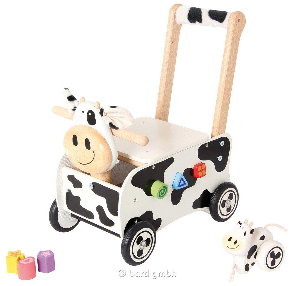 Lauflernwagen Kuh - I m Toy Lauflernwagen Kuh