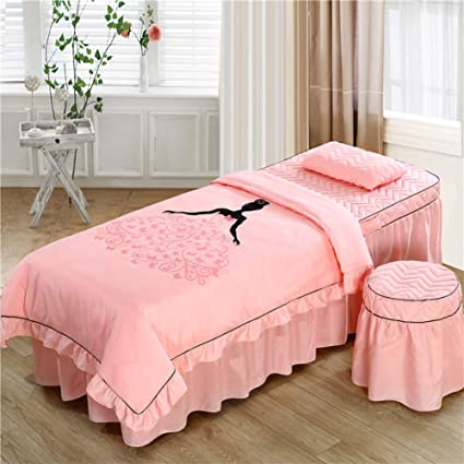 amazon com yxljyh simple massage table sheet sets korean beauty bed