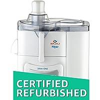 (CERTIFIED REFURBISHED) Bajaj Majesty One 500-Watt Juicer (White)