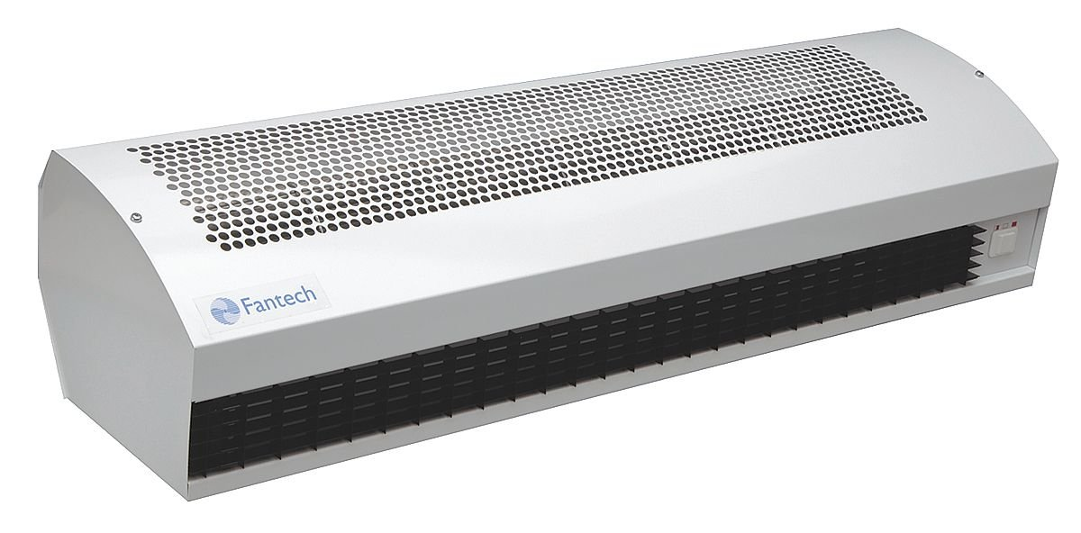 36 Unheated Model 115//1//60 with Cord and Plug Fantech AC 3600//1 Air Curtain