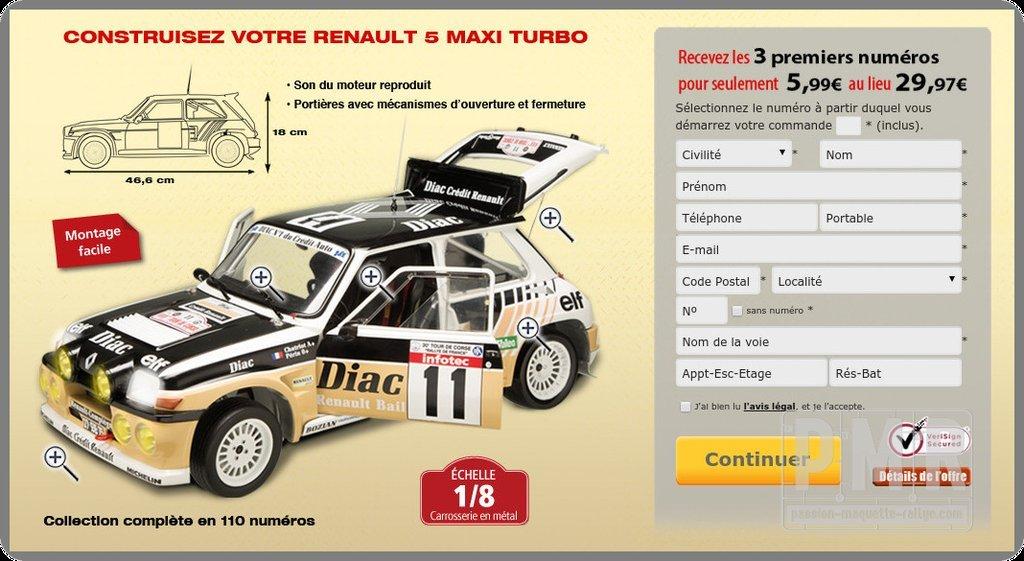 RENAULT 5 MAXI TURBO N°5!!