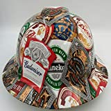 Hard Hat Custom Hydro Dipped, Full Brim Beer Bomb CERVESA BULLARD