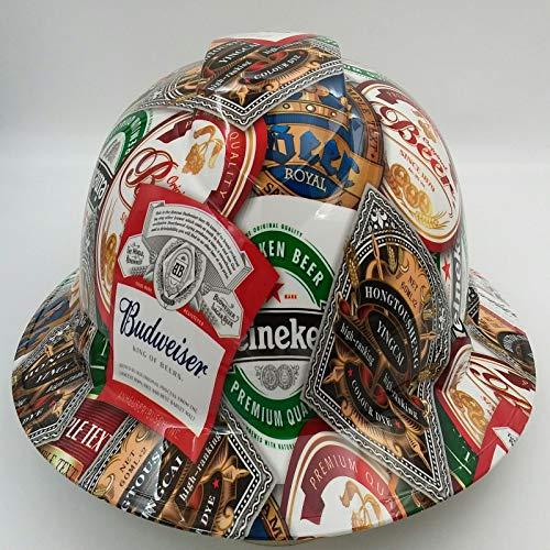 Hard Hat Custom Hydro Dipped, Full Brim Beer Bomb CERVESA BULLARD by Unknown (Image #1)