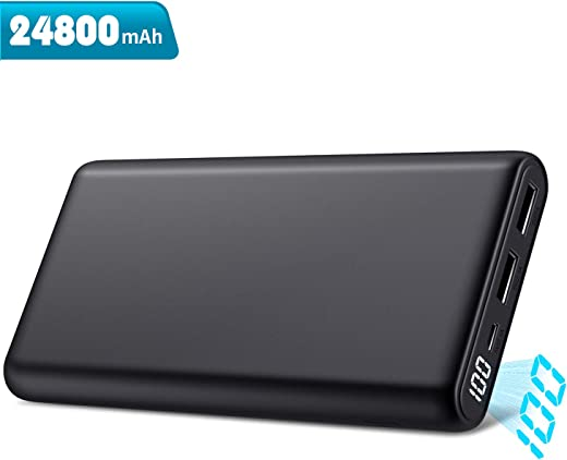 Trswyop Power Bank 24800mAh, 【Ultima Versione-Ricarica Veloce】 Caricabatterie Portatile con...