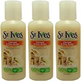 St Ives Body Wash Oatmeal & Shea Butter Travel Size 3 oz (Pack of 3)