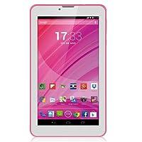 "Multilaser M7 3G Plus NB225 Tablet Rosa Quad Core Câmera Wi-Fi 7"" 8GB Dual Chip, sc7731, 512MB, Android"