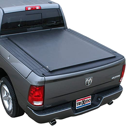 """TruXedo Lo Pro Soft Roll Up Truck Bed Tonneau Cover   547901   fits 2012-18, 2019 Ram 1500/2500/3500 w/RamBox 6'4"""" bed"""