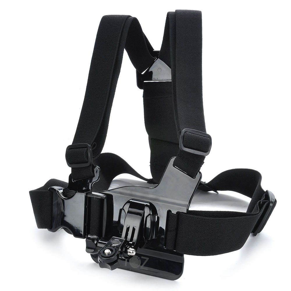 調節可能な胸ボディハーネスベルトストラップマウントfor Sony Action Cam - as100 V as30 V AEE as15 as30 GoPro Hero 4 3 + 3 2 1 sj1000スポーツアクションカムカメラアクセサリー   B013ZXNF1E